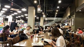 カフェの店内の写真・画像素材[1224020]