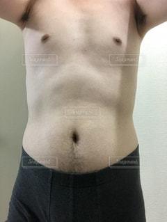 ダイエットとトレーニング途中の写真ですの写真・画像素材[1293668]