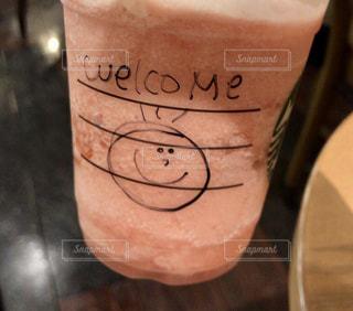 スターバックスのコーヒーの写真の写真・画像素材[1366764]
