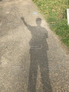 道路脇の標識の写真・画像素材[2107474]