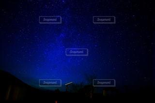 秋吉の星空の写真・画像素材[755144]