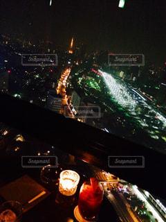 東京タワーを眺めて - No.758611