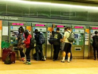 アメリカの券売機の写真・画像素材[859509]