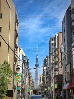 東京スカイツリーの写真・画像素材[1199729]