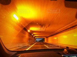高速道路のトンネルの写真・画像素材[1199942]