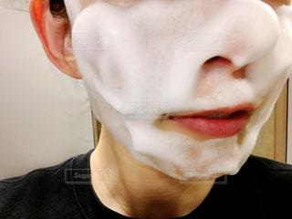 肌洗顔の写真・画像素材[1204212]