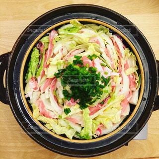 豚肉と白菜のミルフィーユ鍋の写真・画像素材[756601]