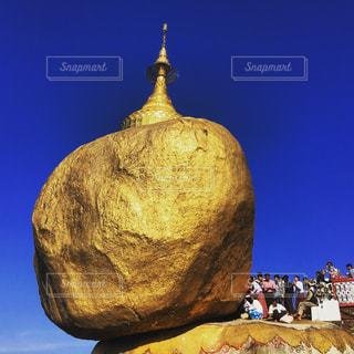 golden rock!の写真・画像素材[799708]