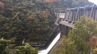 ダム放水の写真・画像素材[757746]