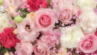 結婚式 花の装飾の写真・画像素材[757957]