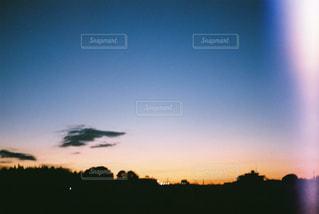 35mmの朝焼けの写真・画像素材[757951]