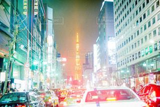 車の通り忙しいの写真・画像素材[758148]
