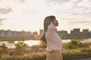 爽やかな女の子の写真・画像素材[1675136]
