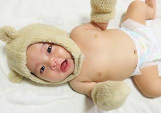 着ぐるみ赤ちゃんの写真・画像素材[758281]