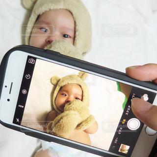 着ぐるみ赤ちゃんを撮る - No.758282