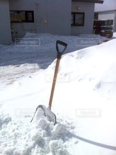 雪かきスコップの写真・画像素材[786874]
