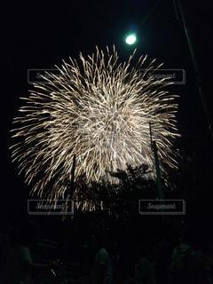 空に花火の写真・画像素材[763123]