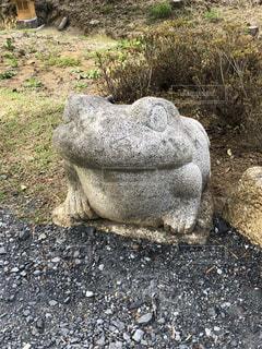 岩の像の写真・画像素材[1124732]