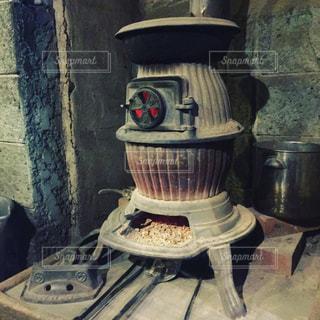 ストーブの鍋の写真・画像素材[958220]