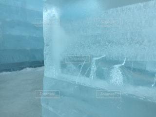 氷の椅子の写真・画像素材[976306]