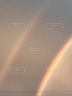 二重にかかる虹の写真・画像素材[760264]