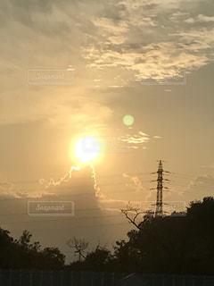夕日の写真・画像素材[763017]
