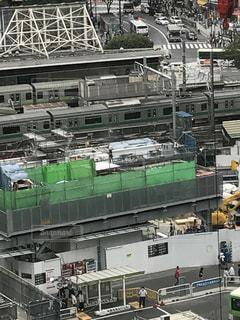 埼京線と山の手線がよく見えます。の写真・画像素材[770106]