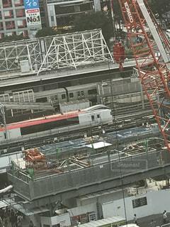 渋谷から成田エクスプレスを見ました。の写真・画像素材[771203]