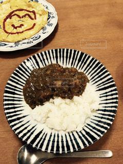 うちの晩ご飯の写真・画像素材[772539]