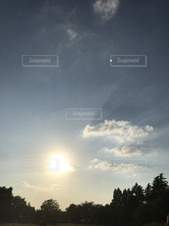 空と太陽の写真・画像素材[775455]