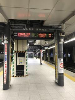 新宿駅5番線6番線の写真・画像素材[810661]