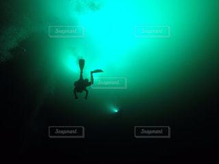 海の中の写真・画像素材[130770]