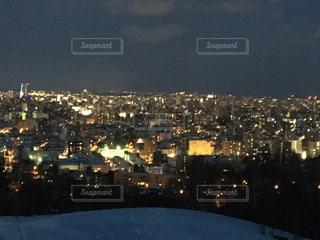 夜の街の景色の写真・画像素材[760721]
