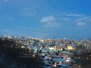札幌の夜景の写真・画像素材[760722]