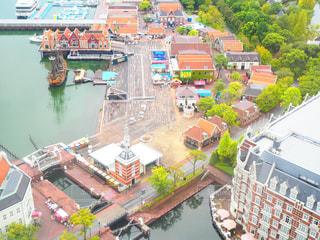 都市を流れる川の写真・画像素材[761365]