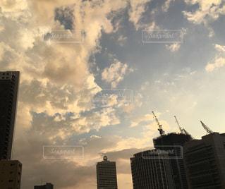都市の高層ビルの写真・画像素材[763409]