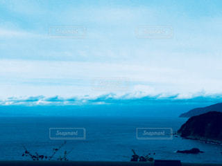 空と海と雲の写真・画像素材[1379591]