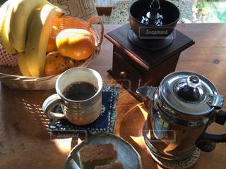 朝のモーニングは珈琲の写真・画像素材[844884]