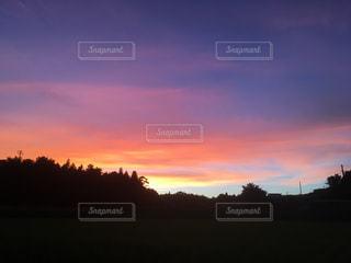 夕焼け小焼けで日が暮れての写真・画像素材[1458502]