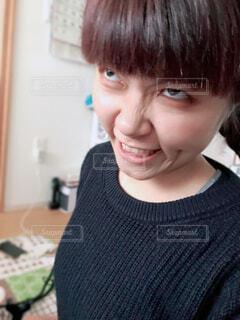 怒りだした妹の写真・画像素材[4420409]