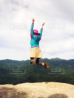 山ガールの写真・画像素材[763406]