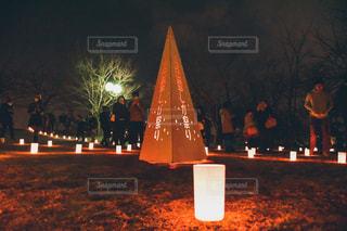 長岡雪しか祭りの写真・画像素材[2954847]