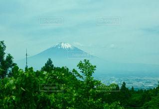 背景の山と木の写真・画像素材[767247]