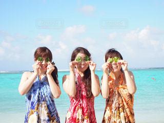 グアムのビーチで♪の写真・画像素材[807818]