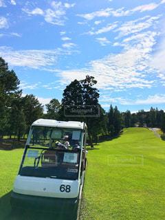 ゴルフ日和②の写真・画像素材[813612]