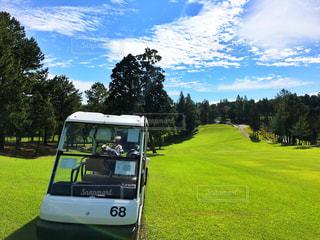 ゴルフ日和①の写真・画像素材[813613]