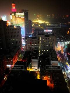 ホテルから見えた夜景の写真・画像素材[819823]