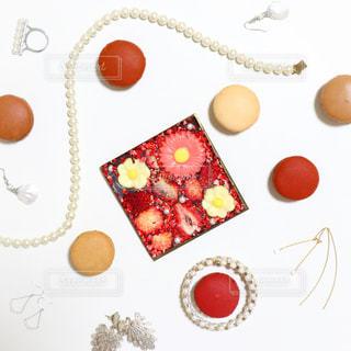 チョコレートとジュエリーの写真・画像素材[1007947]