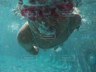 水中メガネの写真・画像素材[829446]