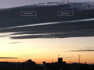 アンニョイな夕焼けの写真・画像素材[770095]